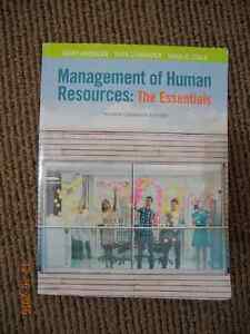 Management of Human Resources: The Essentials 4th Edition