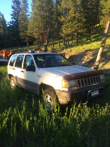1995 Jeep Grand Cherokee White Other