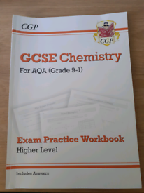 CGP GCSE Chemistry For AQA (Grade 9-1) Exam Practice Workbook