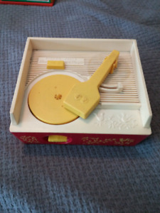 Tourne disque vintage Fisher Price record player