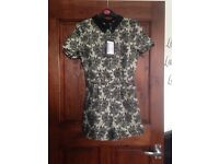 Missguided PLAYSUIT brand new with tags size 8
