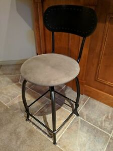Upholstered Metal Bar Stools/ Chairs
