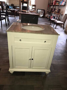Brand New Bathroom Vanity with Marble Countertop