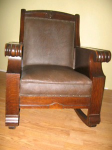 KROEHLER OLD ROCKING CHAIR
