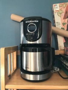 Kitchen Aid Stainless Steel 10 cup thermal carafe coffee maker