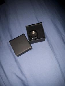 316l stainless steel size 8 skull ring