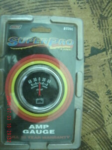 AMP GAUGE FOR CAR OR TRUCK WITH ALL FITTINGS. NEW IN