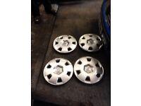 Vauxhall wheels trims 16 inch