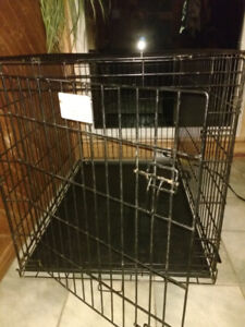 Folding Metal Dog Crate (48 inches) - Large Breed
