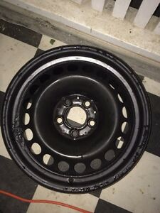 "Steel winter rims 16"" 5/112 bolt pattern"