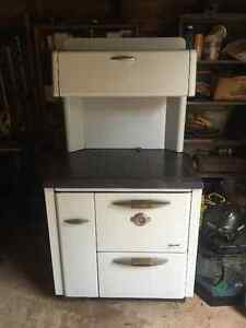 Antique corvette Fawcett multi fuel stove