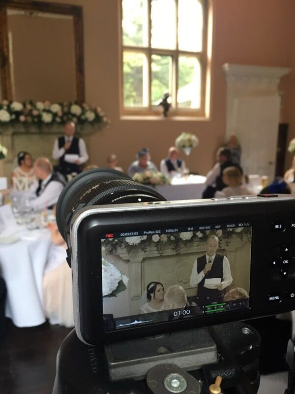 Budget wedding videography offer at £300 available up until December 31 2017.