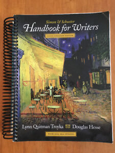 Handbook for Writers Textbook - Simon and Schuster
