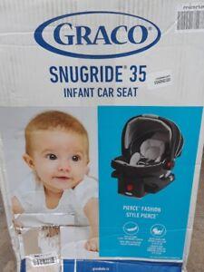 Brand new Graco Snugride 35 Infant Car Seat. Expiry 04/2025.