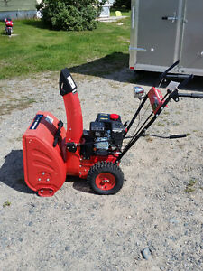 (NEW) Timmins Best Snow Blower Ready To Go