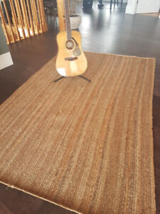 Authentic Jute Area Rug 5'x8'