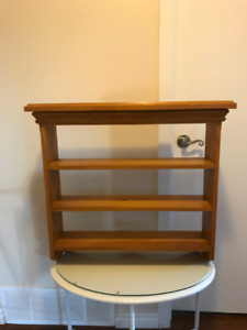 Small Solid Wood Display Shelves, Delivery Possible