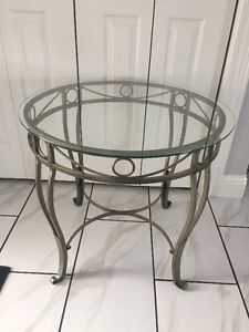 Tempered Glass Coffee Table/ Side Table