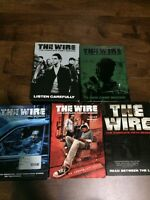 DVD HBO The Wire, Seasons 1 - 5