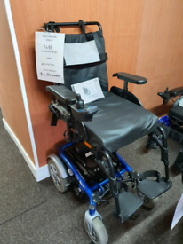 Mobility scooter power chair rise and recline