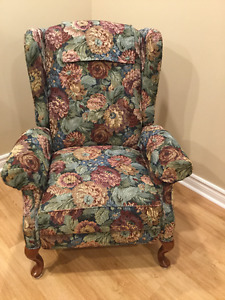 Lazy Boy Wing Back Recliner
