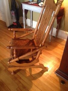 Antique Vintage Maple rocking chair
