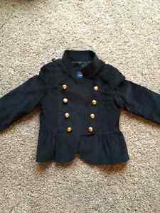 Black Girls Gap Jacket, 3T