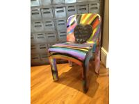 Quirky kartell graffiti joe Colombo chair office kids room unique bedroom display prop