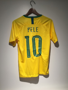 Pele Brazil Soccer Jersey