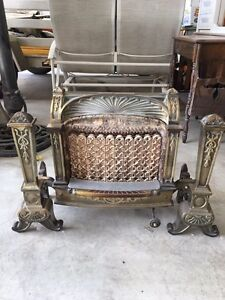 Antique Natural Gas Fireplace