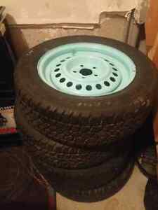 4 Winter Tires - EXCELLENT CONDITION!