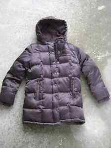 Down filled girls size small winter coat Old Navy 4T 5T London Ontario image 1