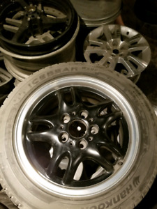 BMW factory OEM rims and tires