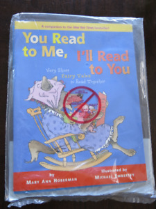 """BRAND NEW - """"You Read to Me, I'll Read to You"""" Books (2 pack)"""