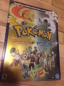 Pokemon heart gold soul silver guide BOOK livre neuf new