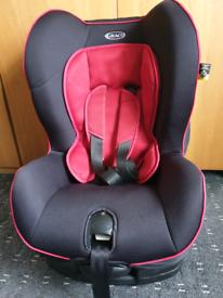 Graco car seat. Multi recliner. 9-18kg