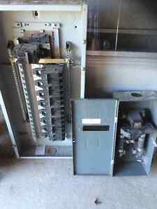 125 amp breaker panel and switch