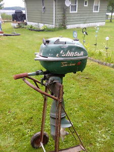 Old Johnson Sea Horse 5hp