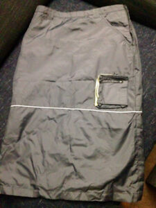 Silver KillahBabe Winter Skirt, Size 4-6, as new condition!