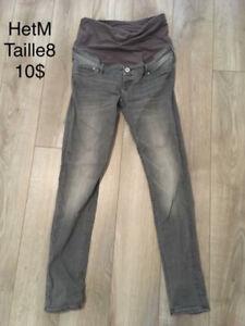 Pantalons/jeans maternité