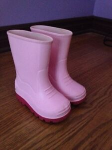 Girls rain boots toddler size6