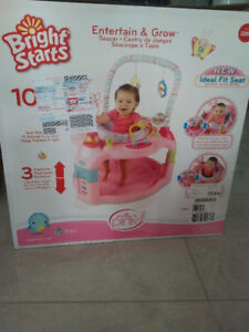 Bright Stars Entertain and Grow Saucer Pink
