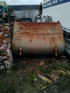 Used 200 gallon oil tank for fire pit