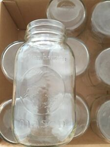12 standard mouth mason jars - Golden Harvest  London Ontario image 1