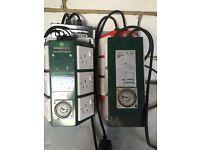 Hydroponic 6 way contactors