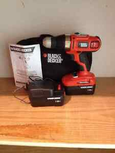 Black and Decker Drill/Driver, like new