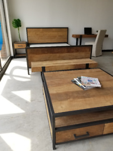 MODERN RUSTIC FURNITURE – SHOWROOM OPEN – NEW PRODUCTS