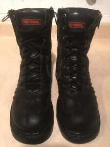 Men's Harley-Davidson Leather Boots Size 7 London Ontario image 2