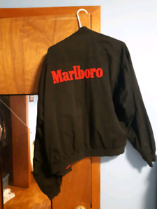 Marlboro men reversible bomber.