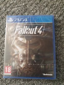 ps4 fallout4 game sealed
